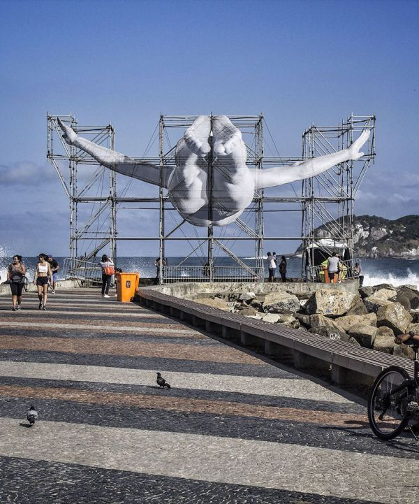 French Artist Creates Something Special For The Rio Olympic Games