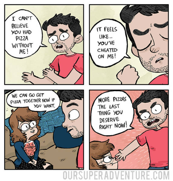 Funny Comics That Capture The Experience Of Living With Your Partner