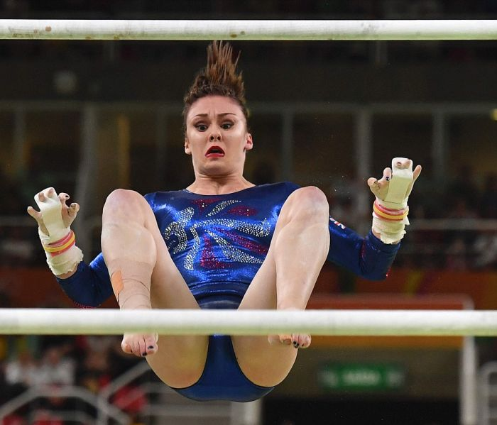 Olympic Gymnasts Have Been Making Hilarious Faces In Rio