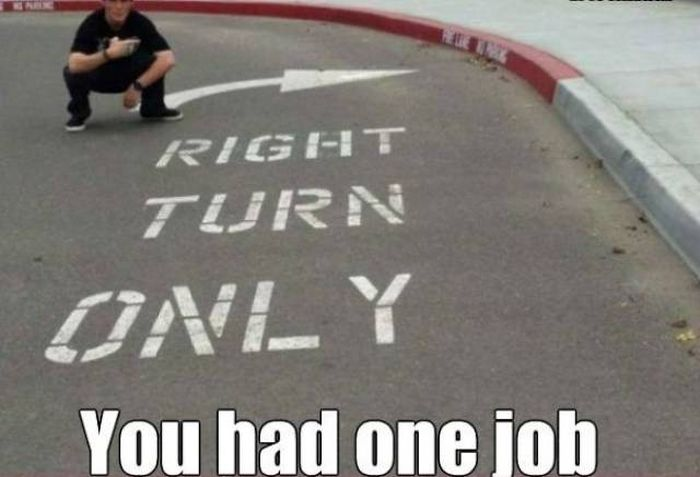 If You Only Have One Job to Do, Do It Right Or Prepare To Be Shamed
