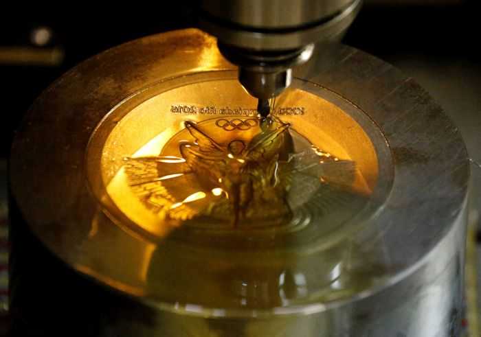 How Olympic Medals Are Made For The 2016 Olympic Games