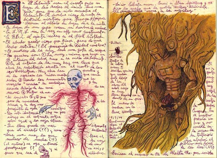 A Look Inside Guillermo Del Toro's Sketchbook