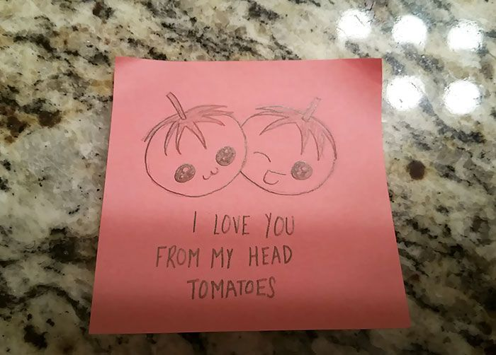 Girlfriend's Cute Love Notes To Her Boyfriend Go Viral | Others