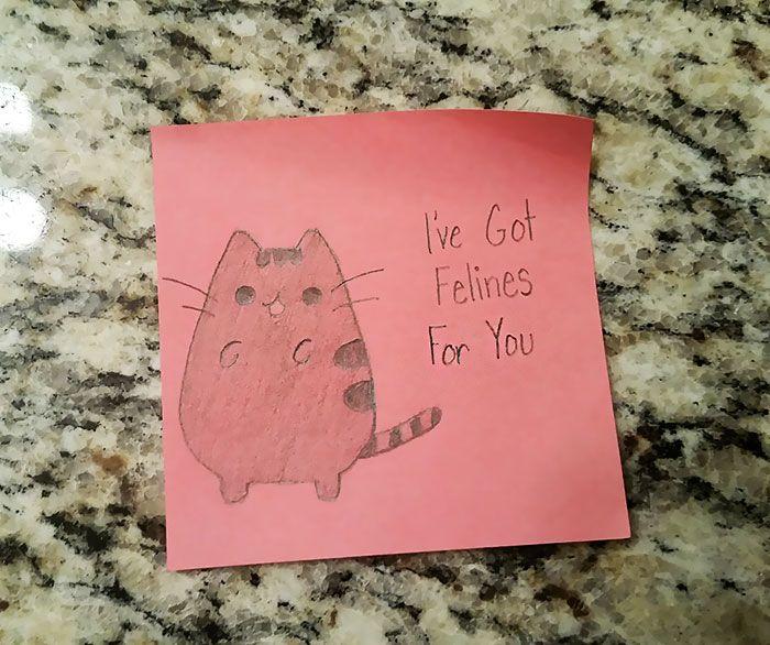 Girlfriend's Cute Love Notes To Her Boyfriend Go Viral