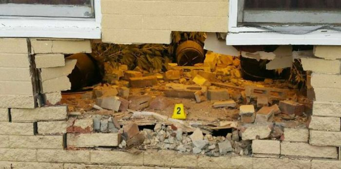 Driver Crashes Into House And Finds Unexpected Pot Stash