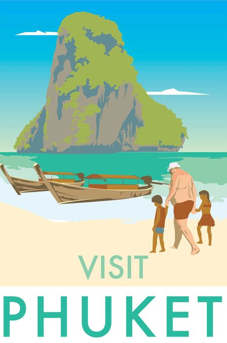 Artist Creates Brutally Honest Travel Posters