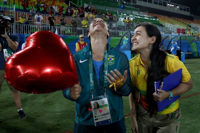 Olympian Proposes To Her Girlfriend At The Olympic Games In Rio