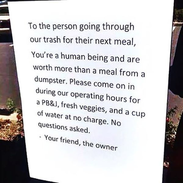 Kindness Really Does Go A Long Way In This World