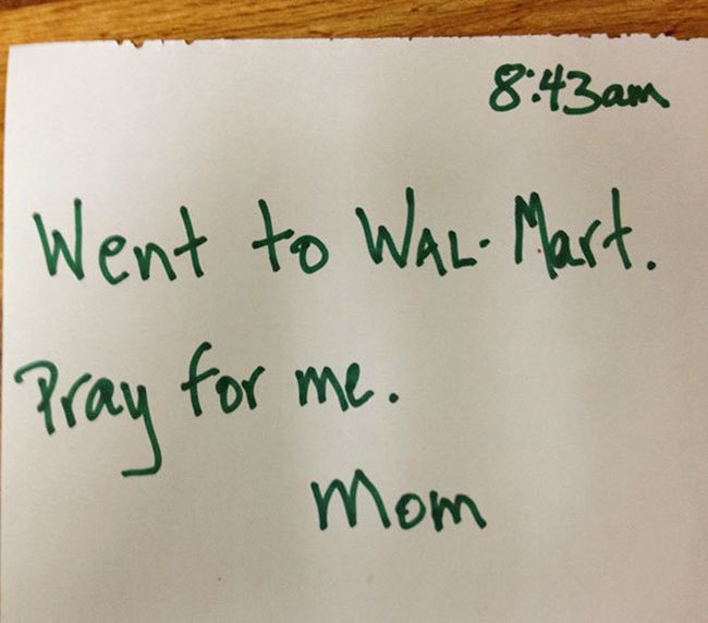 The 28 Funniest Notes Parents Have Ever Left For Their Kids