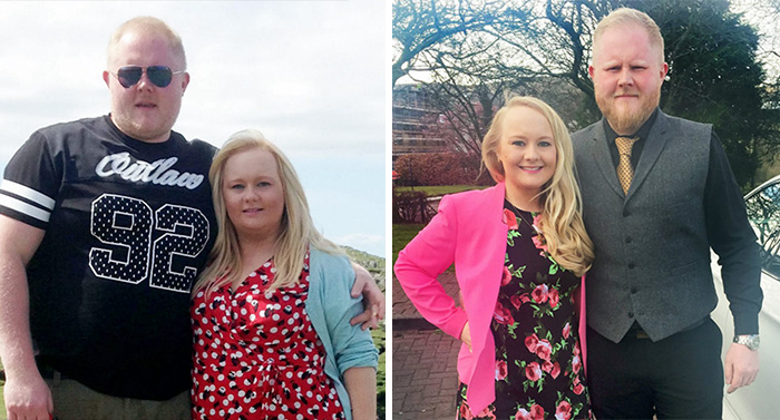 Before And After Photos Of Couples Who Dropped Weight Together