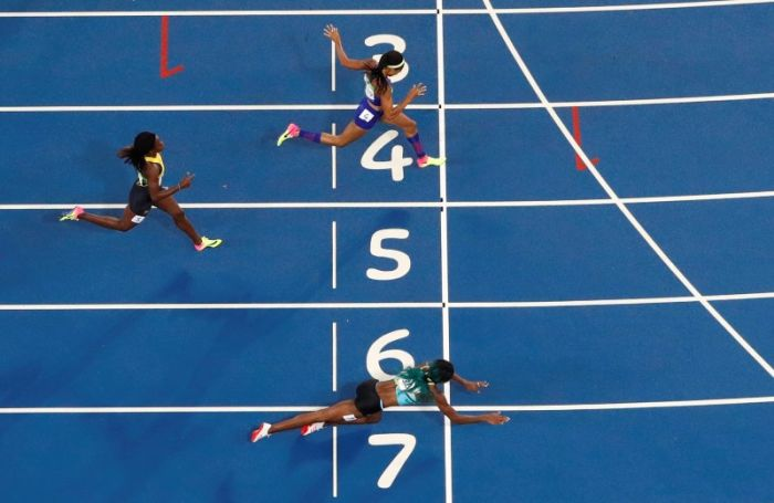Shaunae Miller Wins Olympic Gold Medal By Taking A Leap Of Faith