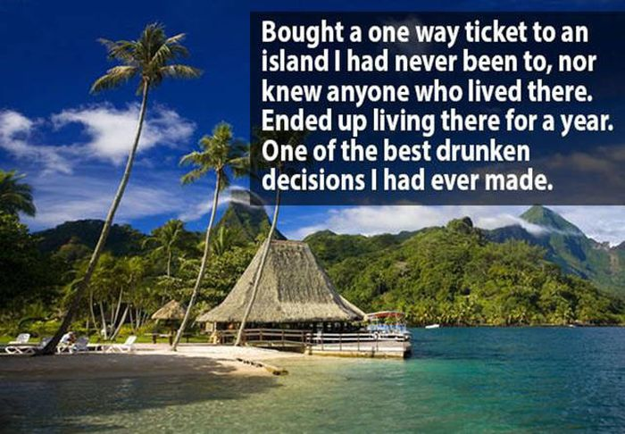 People Reveal The Most Ridiculous Things They've Purchased While Drunk