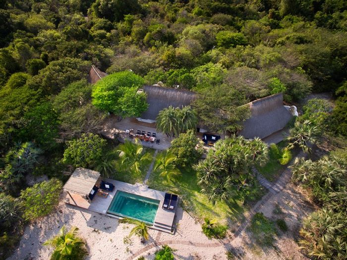 London Architect Michaelis Boyd Designs Incredible Island Getaway
