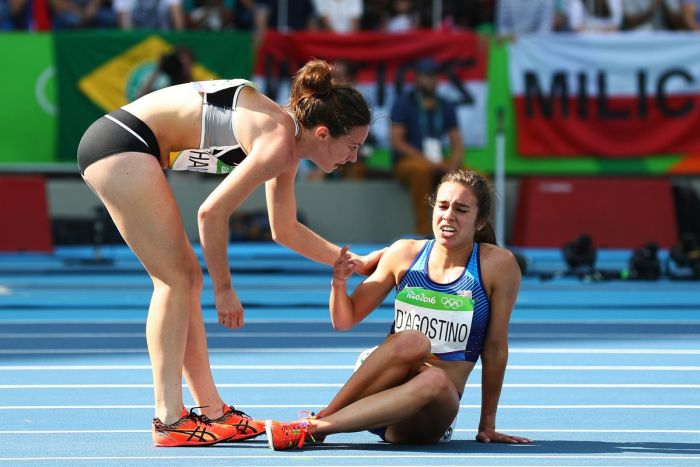 One Of The Most Inspirational Moments From The 2016 Olympic Games