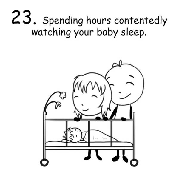 Funny Drawings All New Parents Will Be Able To Laugh At