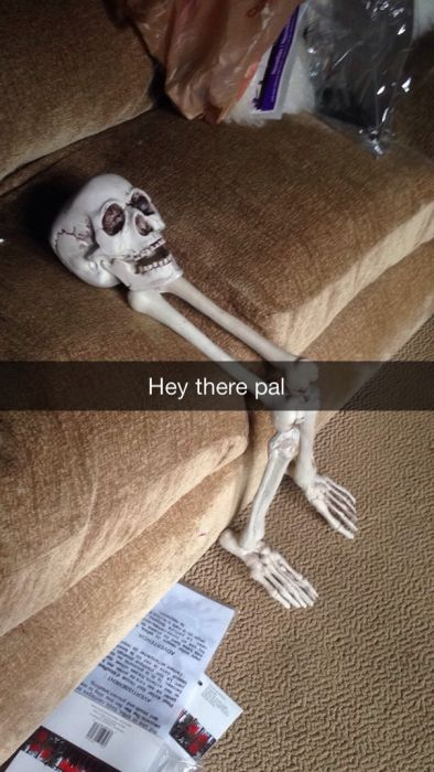 This Guy's Sad Story About His Skull Became A Snapchat Sensation