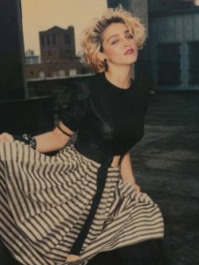 Long Lost Polaroids Of Madonna Show The Singer Before She Was A Star
