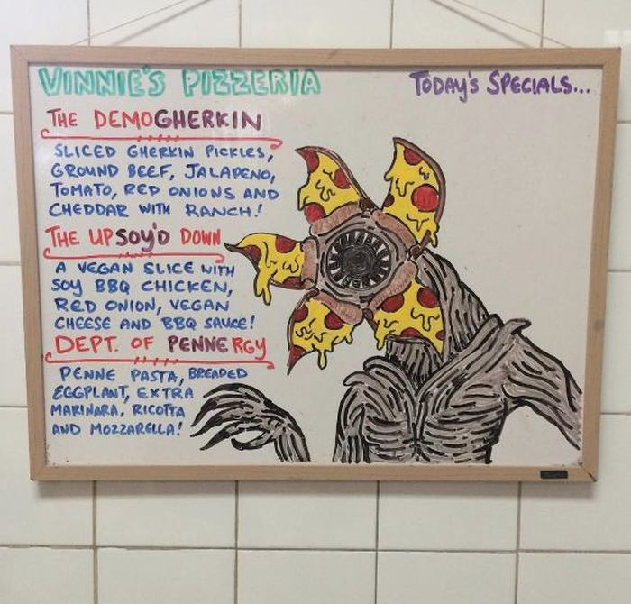 Vinny's Pizzeria Has Fun Specials Inspired By Stranger Things And More