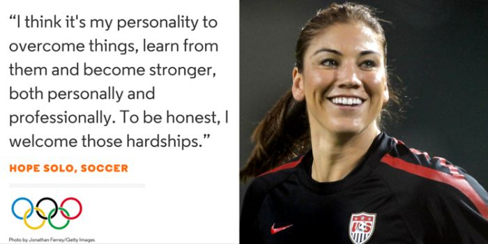 Words Of Wisdom From The USA Olympic Team