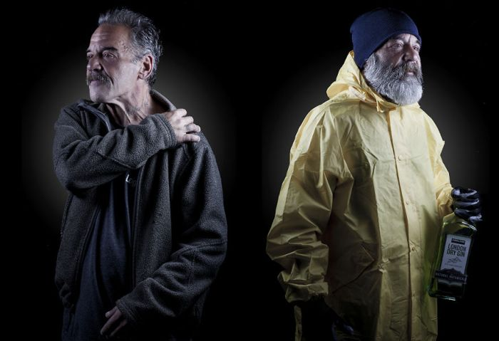 Photographer Helps Homeless People Step Into Their Dreams