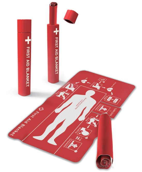 This Clever First Aid Blanket Could Help To Save Many Lives