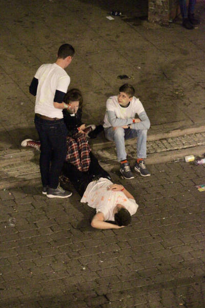 Birmingham Students Party Hard While Celebrating Their A Level Results