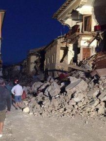 Powerful Earthquake Devastates Central Italy