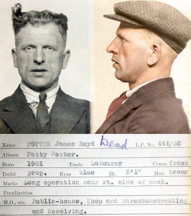 Vintage Photos Show The Old School Criminals Of Scotland Yard