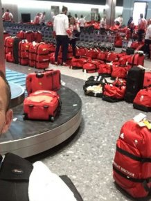 British Olympic Athletes Can't Figure Out Whose Bag Is Whose