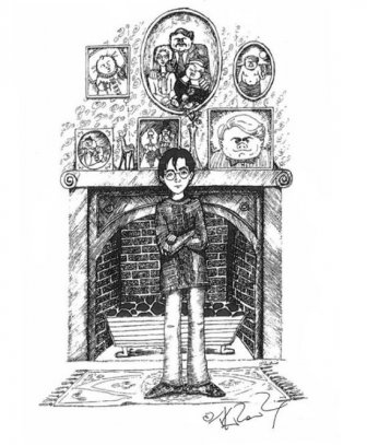J.K Rowling Shares Unseen Personal Sketches Of Harry Potter