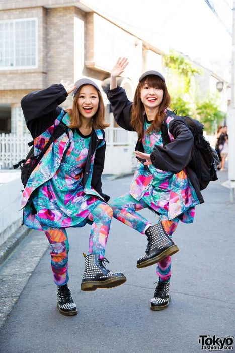Strange Fashion Styles You Can Only See In Tokyo