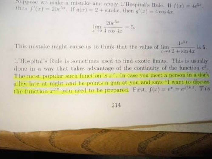 Strange Things That Have Been Spotted In School Textbooks
