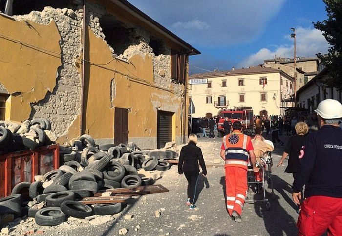 Before And After Photos Show The Devastating Impact Of Earthquakes In Italy