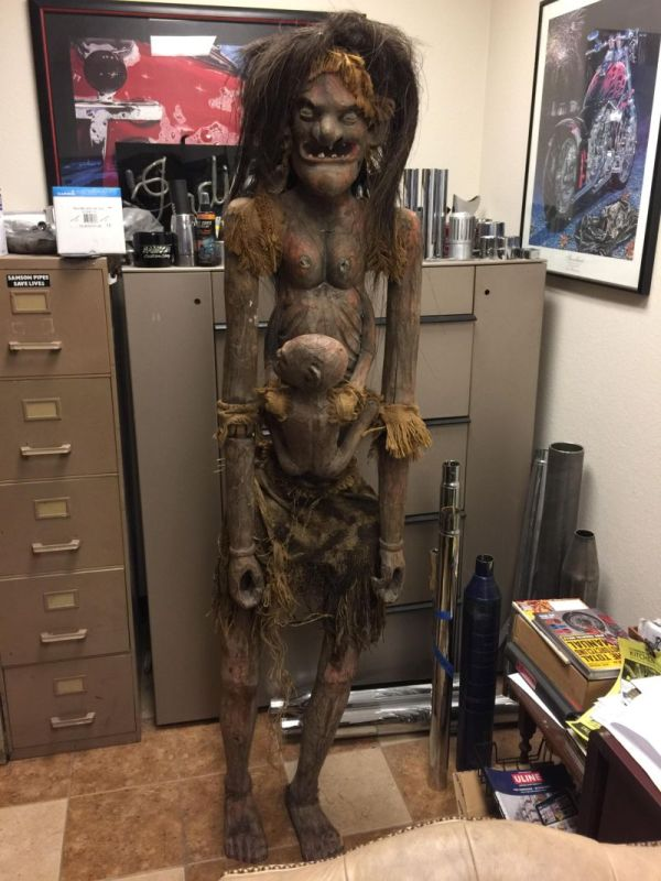 The Goddess Of Fertility Will Probably Give You Nightmares