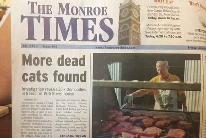 Horrifying Newspaper And Magazine Layout Fails