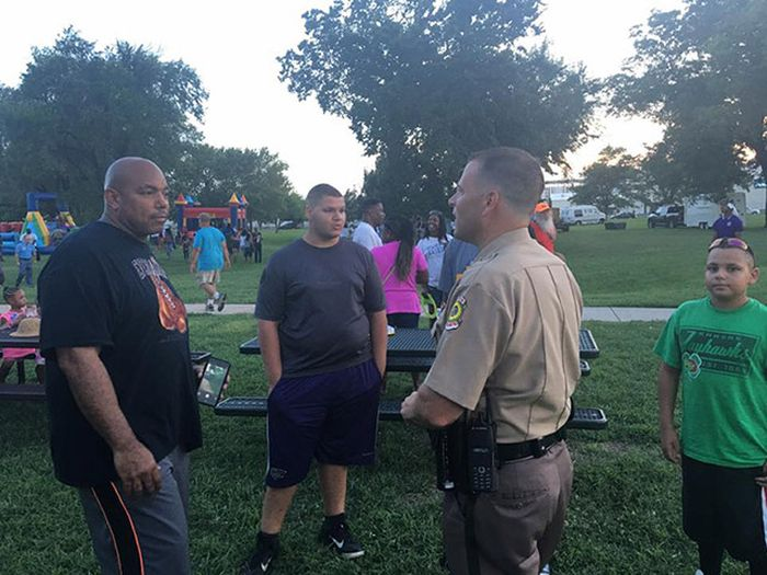 Kansas Cops Throw A Cookout In Honor Of Equality