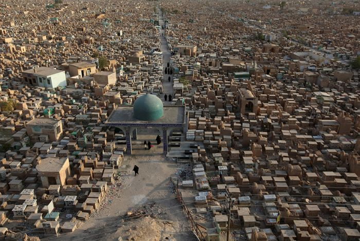 A Haunting Look At The World's Largest Cemetery