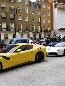 Supercar Season Is Still In Full Force In London