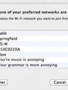 Genius WiFi Network Names Used To Troll The Neighbors