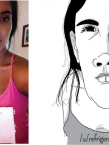 Artist Uses Unflattering Illustrations To Roast People
