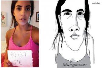Artist Uses Unflattering Illustrations To Roast People