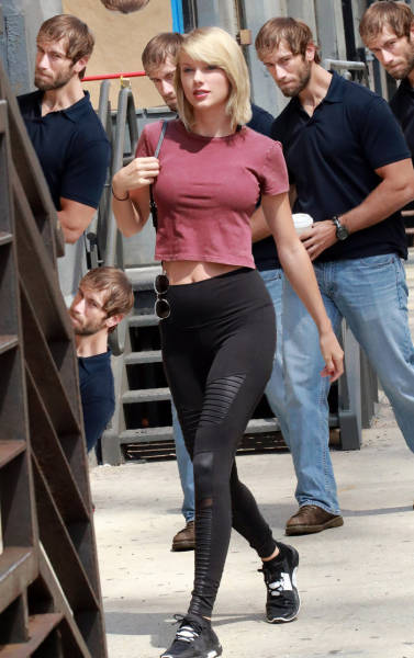 Guy Caught Creepily Staring At Taylor Swift Gets The Photoshop Treatment