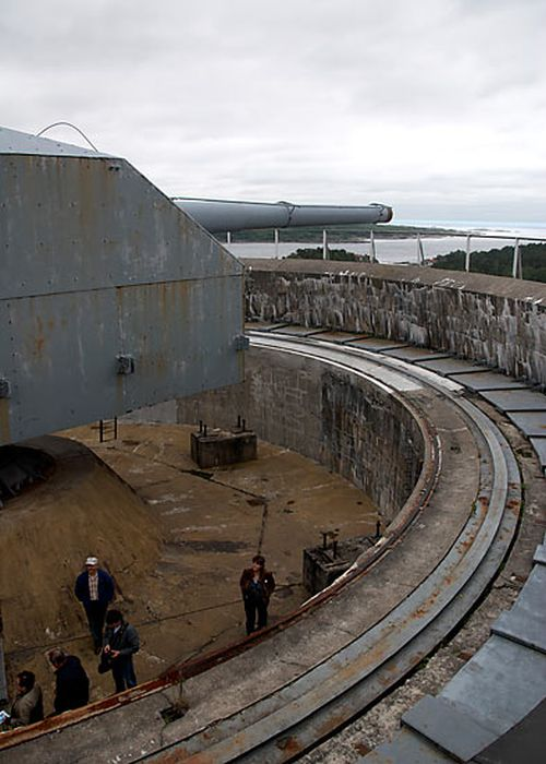 Inside An Abandoned Military Battery Vara In Norway