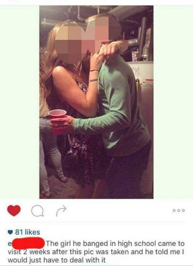 Girl Changes All Her Instagram Pics After Finding Out Her Boyfriend Cheated