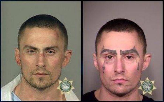 This Man's Many Mugshots Show His Downward Spiral