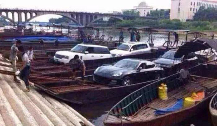 Armored Stealth Boat Used To Smuggle Luxury Cars Into China