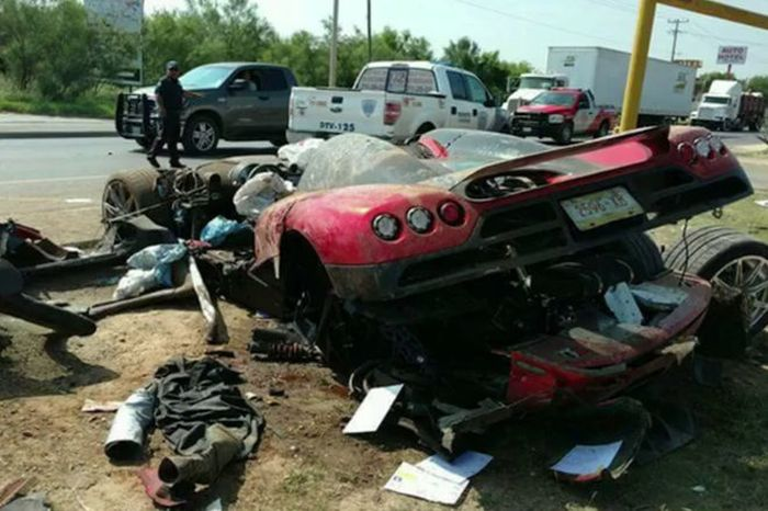 Koenigsegg CCX Totaled In Mexico After High Speed Crash