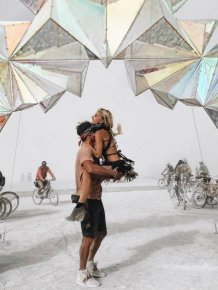 The Most Incredible Photos From Burning Man 2016