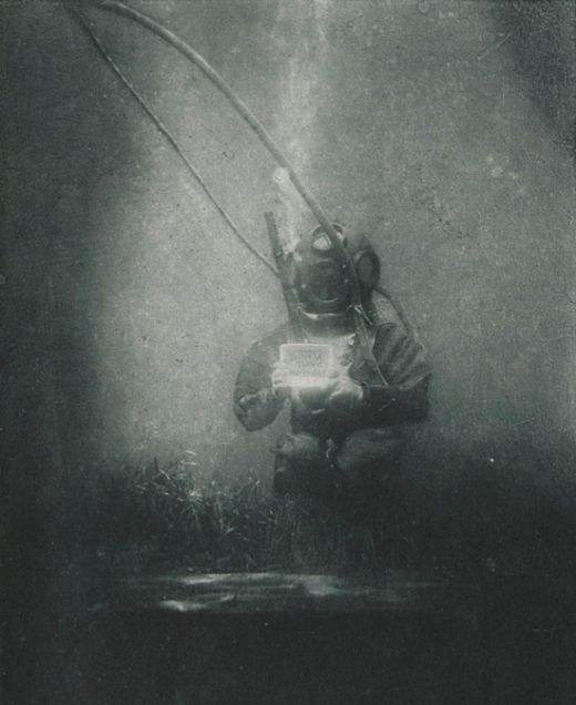 Take A Look At One Of The First Underwater Portraits Ever Taken