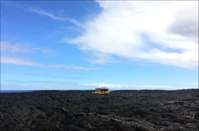 Lava From Kilauea Volcano In Hawaii Finally Reaches The Ocean
